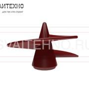 Литой наконечник для винтовых свай СВЛ 76-133