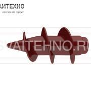 Наконечник литой для винтовых свай НЛ-76-140 тип 2