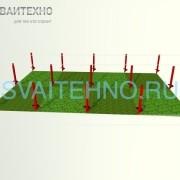 Фундамент 6 на 9 (шаг свай 3-2,5 м.)