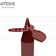 Винтовые сваи СВЛ 133 - с литым наконечником