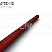 Усиление ствола винтовой сваи - стыковой продольный шов + пластины