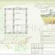 Схема расположения свай для фундамента двухэтажного жилого дома
