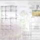 Схема расположения свай для фундамента бани с верандой 10300х6500мм