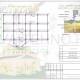 Схема расположения свай для фундамента дома из бруса