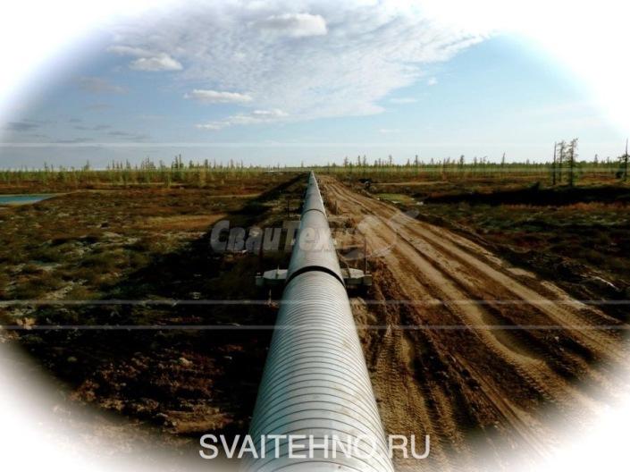 Фундамент опор трубопроводов