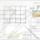 Схема расположения свай для двухэтажного дома из клееного бруса