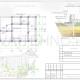 Схема расположения свай для строительства бани из клееного бруса