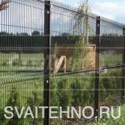 Забор 3 D - фундамент на винтовых сваях
