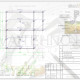 Схема расположения свай для строительства дома из бруса 150х150мм