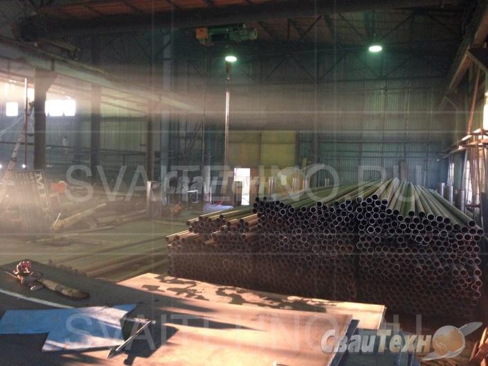 В производстве винтовых свай СВК используется только новое сырьё