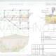 Схема расположения свай для строительства бани из СИП панелей