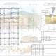 Схема расположения свай для строительства одноэтажного дома из оцилиндрованного бревна