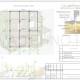 Схема расположения свай для строительства дома каркасного типа