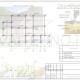 Схема расположения свай для строительства дома из бруса с мансардным этажом