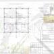 Схема расположения свай для строительства деревянного дома с мансардным этажом