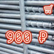 N 180x180 - Сваи для забора серии N 76, длина 1,5 метра - 900 ₽ -