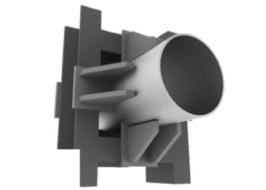 Опоры неподвижные лобовые четырехупорные Т5.00 (фото)