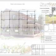 Схема расположения свай для строительства загородного дома из бруса