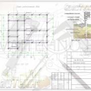 Схема расположения свай для строительства деревянного дома из бруса