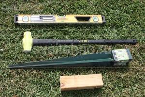 Для монтажа забивных свай не требуется специальных навыков и оборудования! Достаточно: