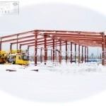Фундамент металоконструкции