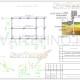 Схема расположения свай для фундамента бани с мансардным этажом
