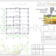 Схема расположения свай для фундамента одноэтажного дома из оцилиндрованного бревна