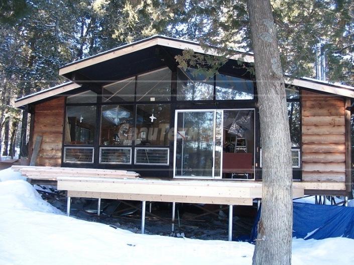 Фундамент зимой для дома