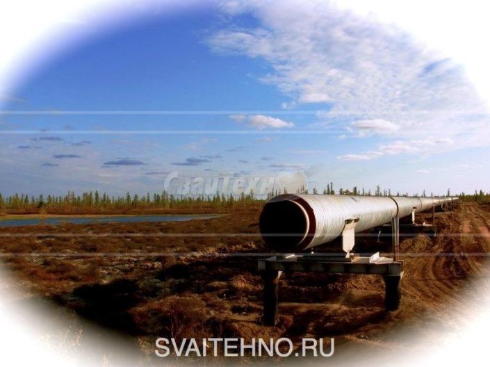 Винтовые сваи для нефтепроводов