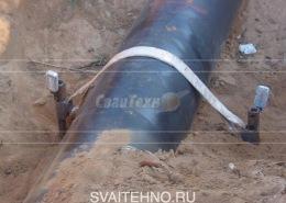 Анкерное закрепление трубопроводов