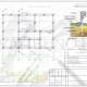 Схема расположения свай для строительства загородного дома каркасного типа