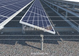 Фундамент солнечных батарей, эксплуатация