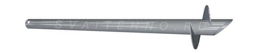 СВС-EVRO сваи винтовые (полые)