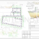 Схема расположения свай для строительства двухэтажного гостевого дома