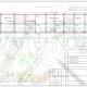 Схема расположения свай для строительства бани, летней веранды, летней кухни и гаража