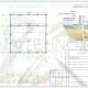 Схема расположения свай для строительства двухэтажного дома