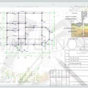 Схема расположения свай для строительства двухэтажного дома из бруса