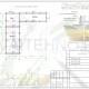 Схема расположения свай для строительства банного комплекса