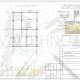 Схема расположения свай для строительства дома из бруса 200х200мм