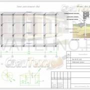 Схема расположения свай для строительства одноэтажного жилого дома
